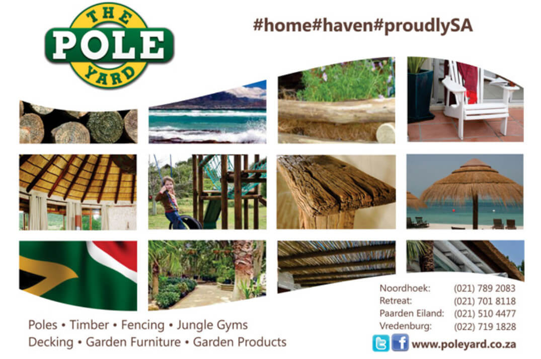 Variety of wooden products from Pole Yard with Contact details