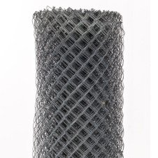 Galvanised Diamond Wire Mesh Fencing
