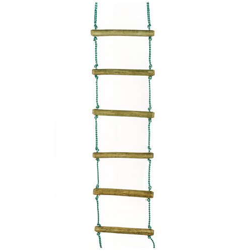Rope Ladders Diy Wooden Jungle Gyms The Pole Yard
