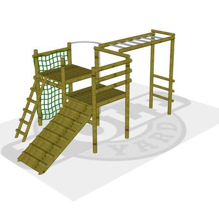 Jungle gym cheetah Pole Yard