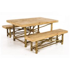 Picnic table bench sets Pole Yard