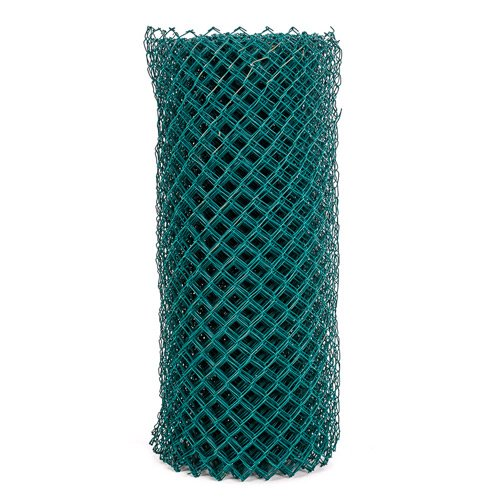 Pvc diamond mesh wire fencing the pole yard