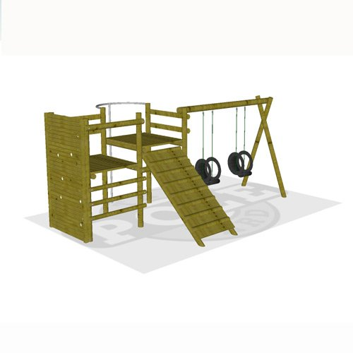 Pre-Designed Jungle Gyms