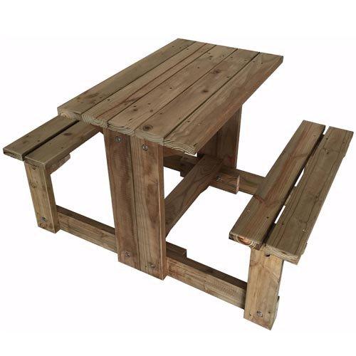 Picnic Bench Set PoleYard