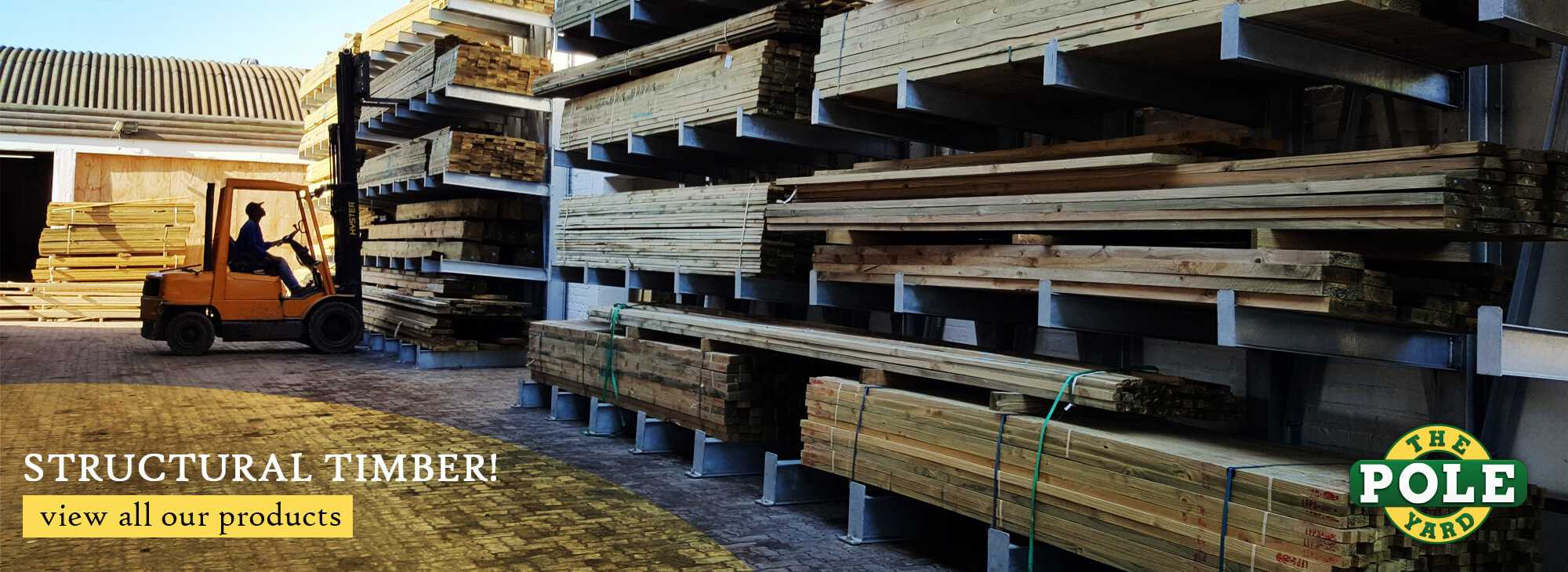 Timber available at The Pole Yard