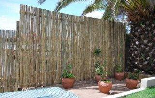 Eucalyptus, Latte, Gum Treated Poles fence