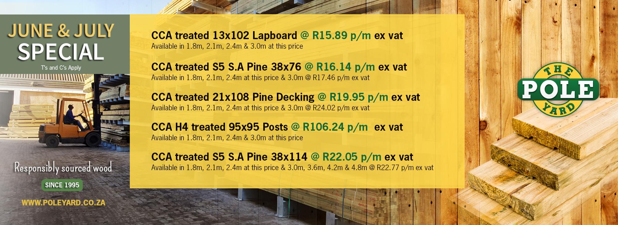 PoleYard Cape Town Specials